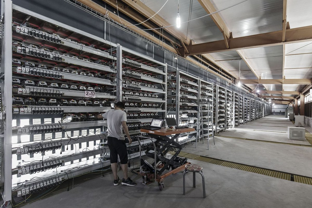 Mining Farm Layout Instruction Bitmain